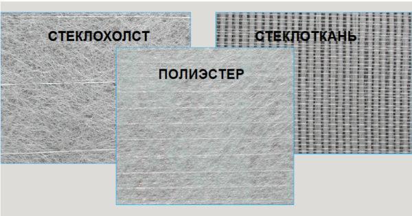 Виды материалов, используемых в качестве основы для гибкой черепицы