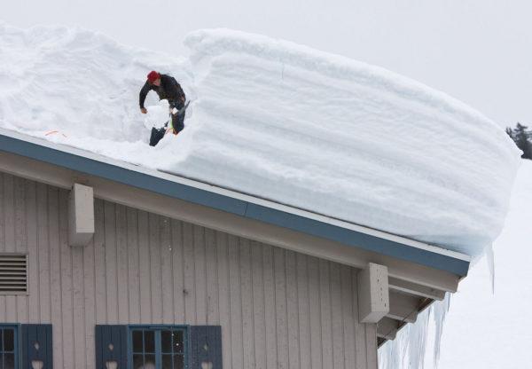 Для местностей с большим количеством осадков плоские крыши не подходят