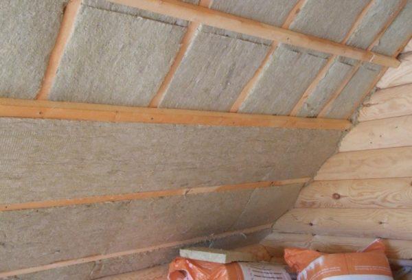 Утепление крыши из минеральной ваты