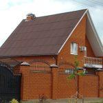 Крыша, покрытая BF Tech шифером
