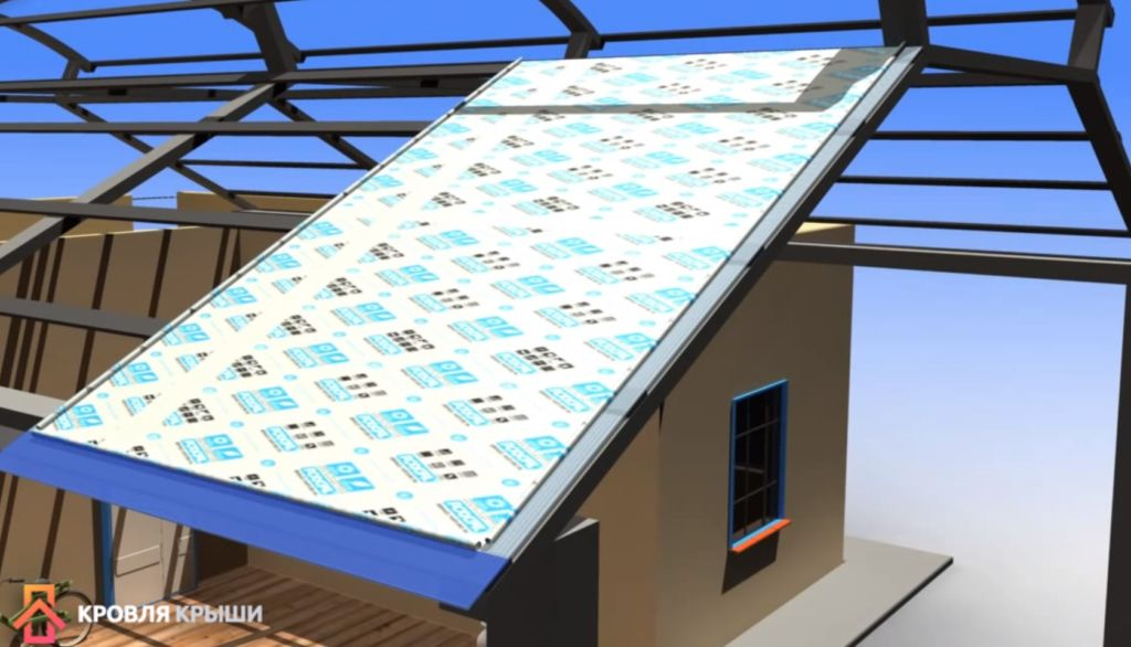 Монтаж поликарбоната на крышу своими руками 78